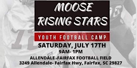Moose Rising Stars Football Camp tickets
