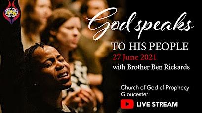 Sunday Worship - God speaks through people tickets