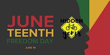Hidden Gems Bike Club's Juneteenth Ride tickets