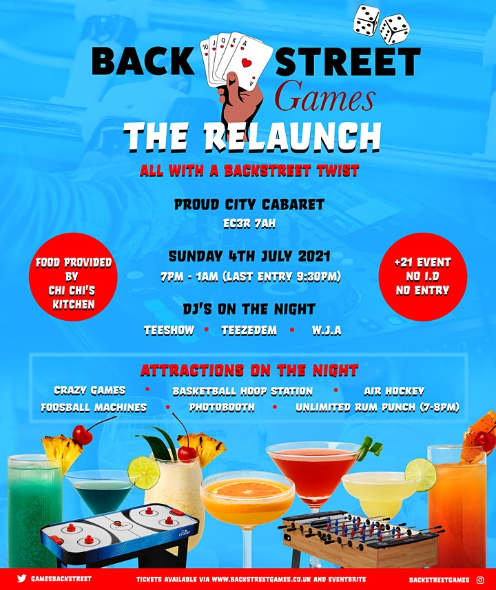 Backstreet Games The Relaunch!!!  image