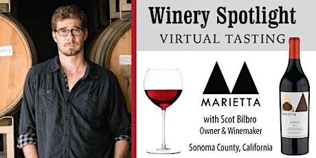 Marietta Virtual Wine Tasting tickets