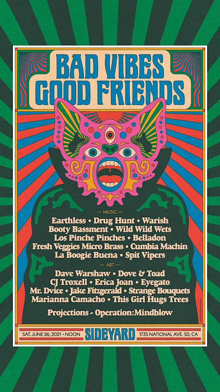 BAD VIBES GOOD FRIENDS image