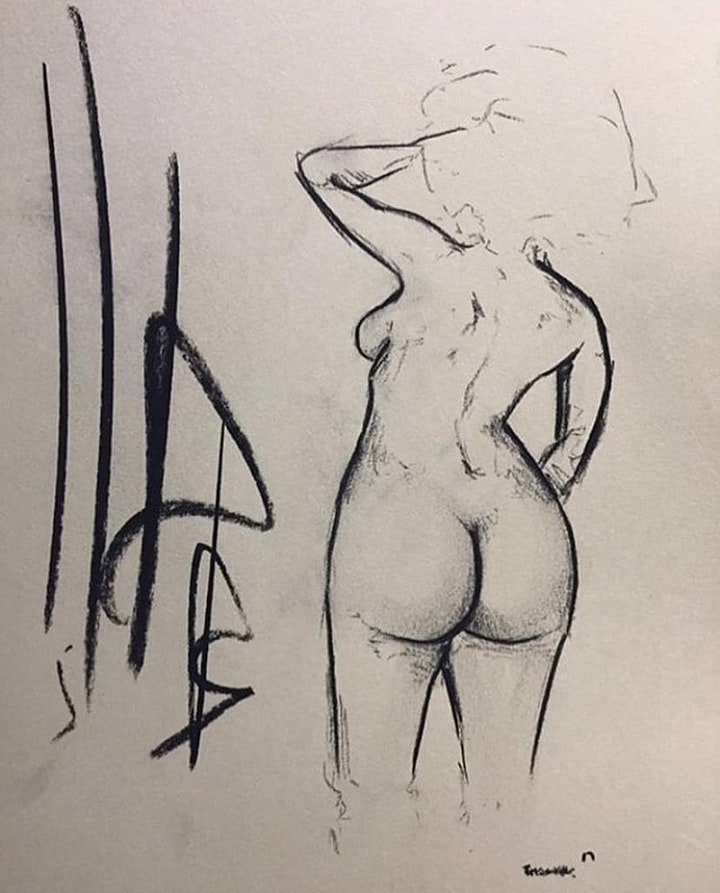 Figuration: Life Drawing Sessions (Virtual) image