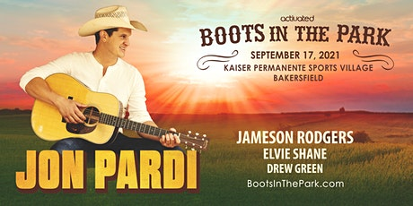 Boots in the Park w/ Jon Pardi presented by Activated Events tickets