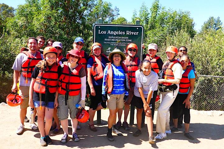 Sepulveda Basin_Los Angeles River Kayak Tours_2021SAT. &  SUN. image