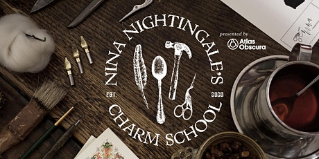 Nina Nightingale's Charm School: Faux Stained Glass tickets
