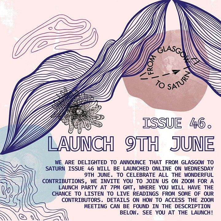 ~*~*~*~ From Glasgow to Saturn ~*~*~*~ Issue 46 launch party! ~*~*~*~ image