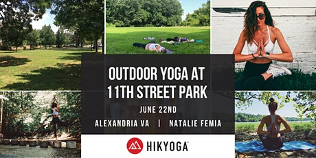 Outdoor Yoga at 11th Street Park with Hikyoga® DC tickets