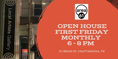 First Friday Open House at Area 61 Gallery tickets