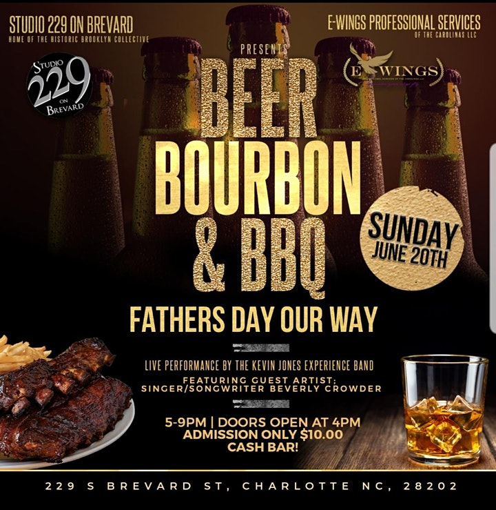 FATHER'S DAY OUR WAY  Featuring Beverly Crowder & Kevin Jones @ STUDIO 229 image