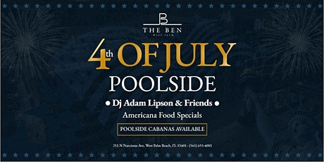 The 4th at The Ben: Rooftop Fireworks Viewing Party tickets