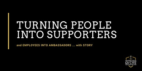 Turning People Into Supporters with Story tickets