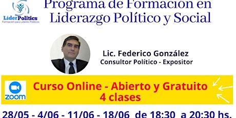 Curso de Liderazgo Político y Social entradas