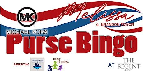 Michael Kors BINGO to benefit Melissa 4 Honorary Mayor of Brandon tickets