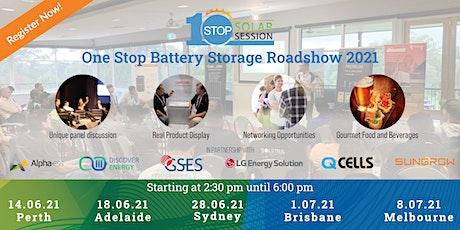 Brisbane - One Stop Battery Storage Roadshow tickets
