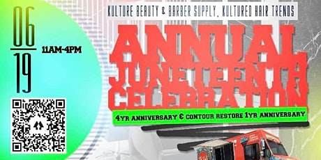 4th Anniversary & Juneteenth Celebration tickets