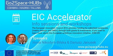 EIC Accelerator info session 2 tickets