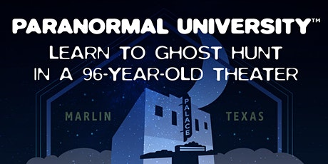 Paranormal University in the 96-Year-Old Palace Theatre tickets