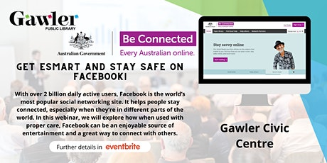 Be Connected Webinar - Staying safe on Facebook tickets