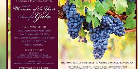 Leukemia & Lymphoma Society Woman of the year Benefit Gala tickets