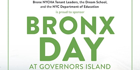 Bronx Day at Governors Island tickets