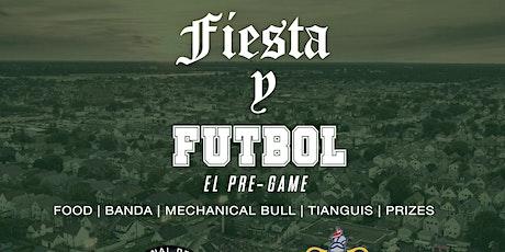 Fiesta y Futbol: INTER DETROIT VS CHIVAS tickets