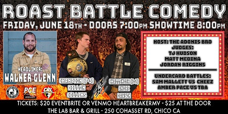 Roast Battle Comedy - Walker Glenn tickets