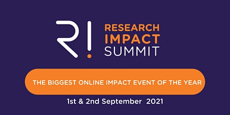 Research Impact Summit 2021 tickets