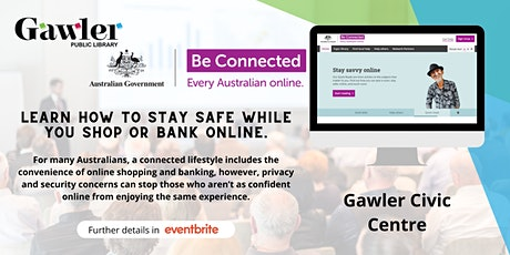 Be Connected Webinar - Safer online shopping and banking tickets