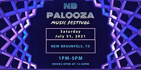 NB Palooza Music Festival tickets