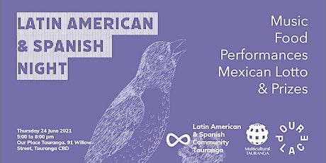Latin American & Spanish Night tickets