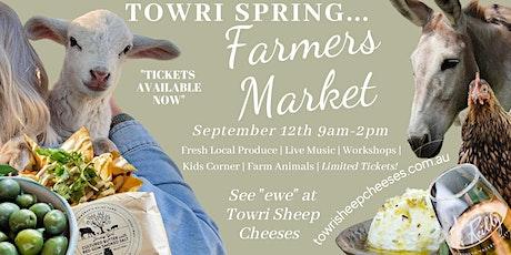 Towri Farmers Markets tickets