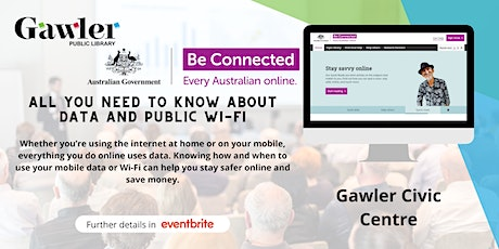 Be Connected Webinar - All you need to know about data and public Wi-Fi tickets