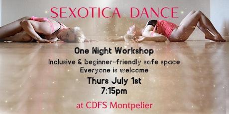 Sexotica Summer! One night dance workshop tickets