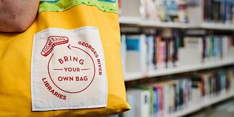 Boomerang Bags Sewing Bee @ Clive James Library, Kogarah tickets