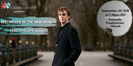 """""""Beethoven in the New World"""" featuring pianist Reed Tetzloff tickets"""