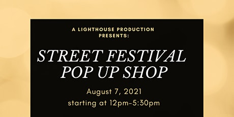Pop Up Street festival  with Carnival Attractions tickets