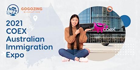 2021 COEX Gogozing Migration  Australian Immigration Expo tickets