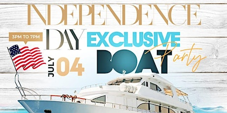 Independence Day Exclusive Boat Party tickets