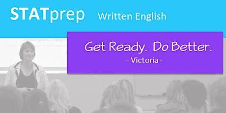 STATprep Written English Melbourne VIC tickets