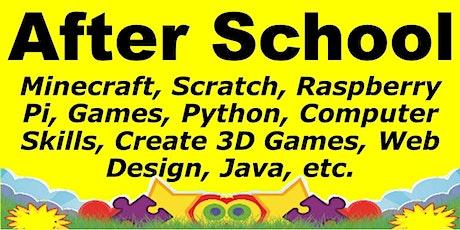 Saturday Computer Class: Python, Scratch, Create 3D Game etc tickets