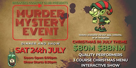 Breakers Country Club - Murder Mystery Show tickets