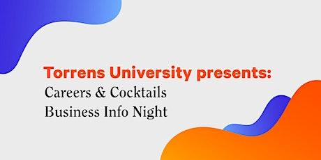 Torrens University Business Info Night Livestream tickets