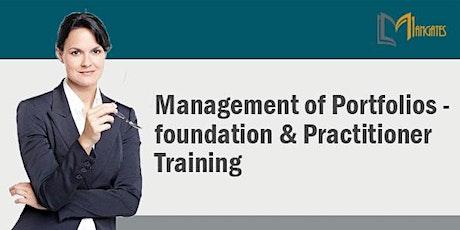 Management Of Portfolios - Foundation & Practitioner 3Days Online-Singapore tickets