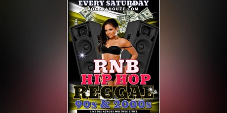 90s and 2000s - Hip Hop, RnB, Reggae - Online Zoom Party! Tickets