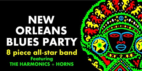 New Orleans Blues Party With The Harmonics + Horns tickets