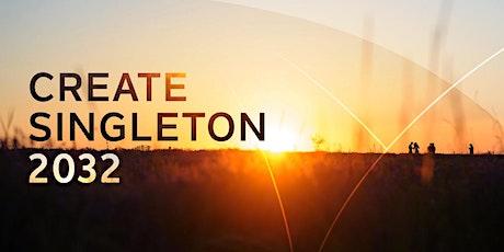 Create Singleton 2032 Community Workshop tickets
