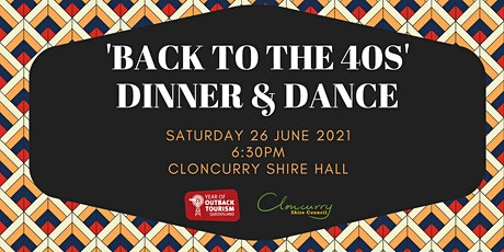'Back to the 40s' Dinner and Dance tickets