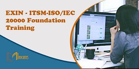 EXIN – ITSM-ISO/IEC 20000 Foundation Virtual Training in Saltillo tickets