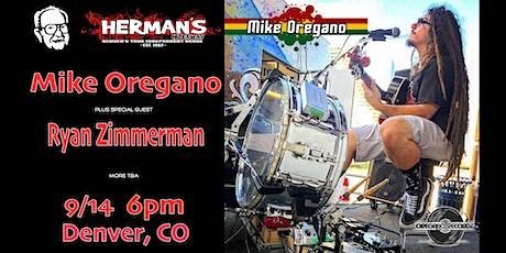 Mike Oregano - Ryan Zimmerman at Herman's Hideaway tickets